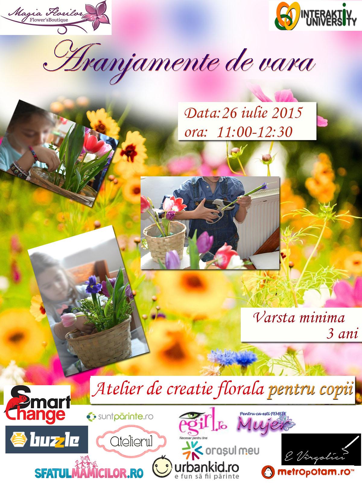 Copii, zambete si flori - Aranjamente de vara_26.07.2015_WEB