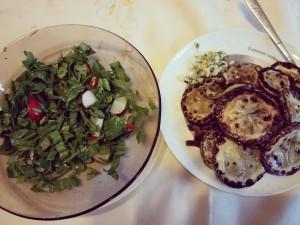 dovlecei si salata
